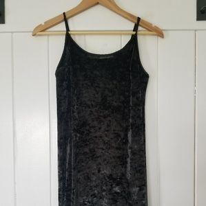 Victorias Secret black velvet lingerie